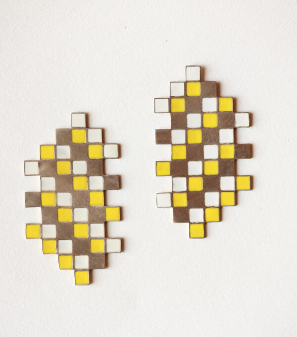 Sunshine Yellow Studs
